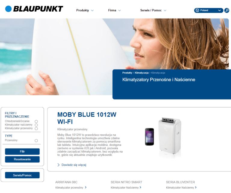Strona Główna - Blaupunkt - Klimatyzatory