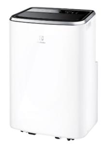 klimatyzator przenośny Electrolux EXP26U338CW z przodu