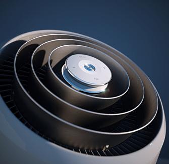 Klimatyzator przenośny Electrolux WP71-265WT górny panel