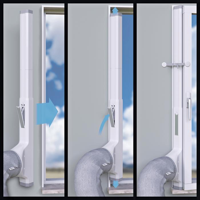 Klimatyzator przenośny Electrolux WP71-265WT instalacja
