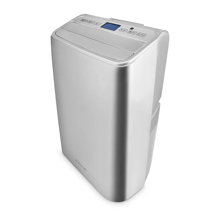 klimatyzator z funkcją oczyszczania fersk vind 2 wifi hepa silver widok z gory